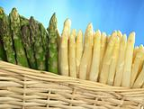 Asparagus in Basket