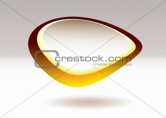 blob pebble gold fruit