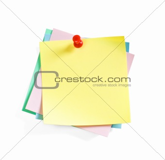 The Colour Sticky Notes