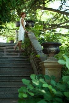Stroll through the summer garden