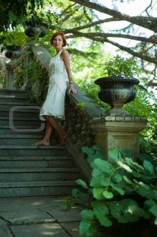 Stroll through the garden