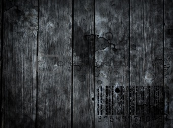 smeared wooden background