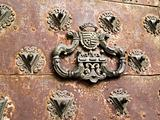 Detail of medieval door