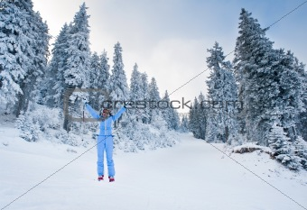 joy of skiing