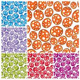Toy balls seamless pattern.
