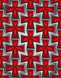 Crosses seamless pattern.