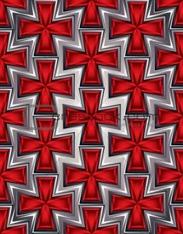 Crosses seamless pattern.
