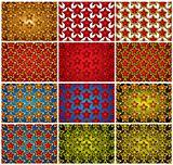 Stars patterns.