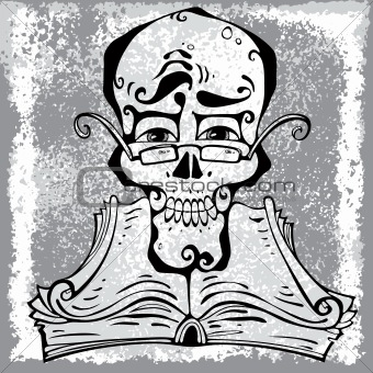 Clever skull.