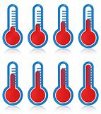 Temperature thermometers
