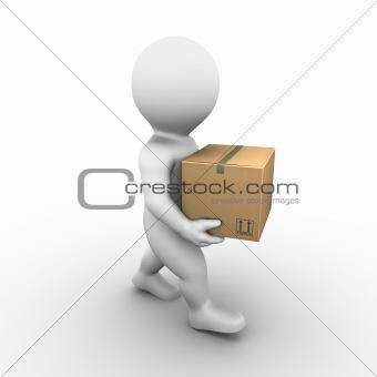 Cardboard Box - Bobby Series
