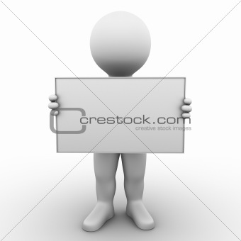 blank ad board - Bobby Series