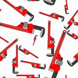 wrench pipe seamless pattern