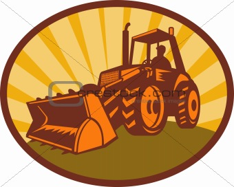 mechanical digger excavator