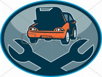 Automobile car breakdown mechanical repair