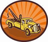 Vintage pick-up cargo truck
