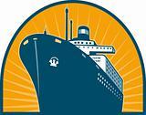 Ocean passenger liner boat ship