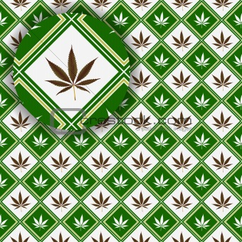 cannabis texture with detail