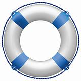 life buoy blue