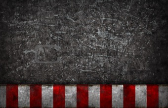 grunge background with warning bar