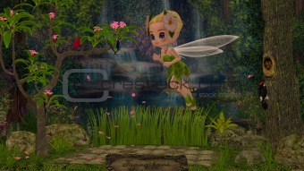 Rosa Bella's fairy world