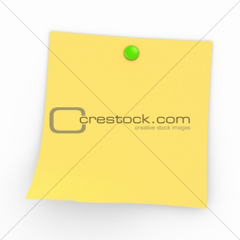 Post It with Button