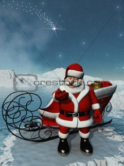 Santa wait