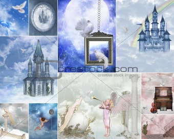 heaven gate collage