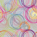 Light seamless pattern for modern backgrounds