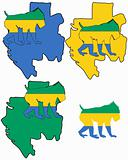 Mandrill Gabon