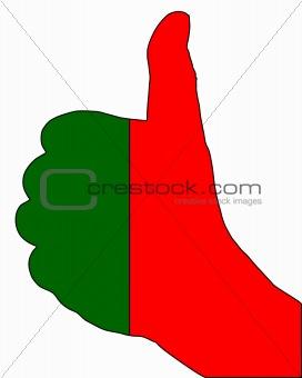 Portugal hand signal
