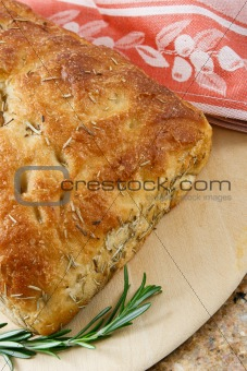 Artisan Rosemary Focaccia Bread