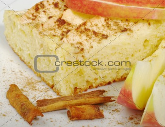 Applecake with Cinnamon