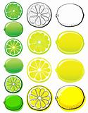 Lemon & Lime set