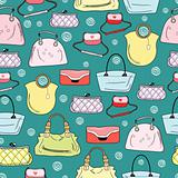 pattern of women's handbags