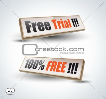 Free Trial Panel for Advertise