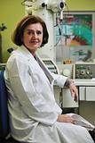 medical woman portrait