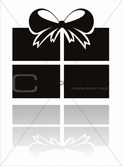 black present icon