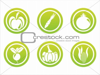 green vegetables signs