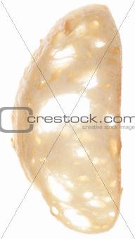 Slice of Fresh Baked Artisan White Bread