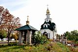 Belltower and church