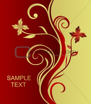 Beautiful abstract background with a pattern