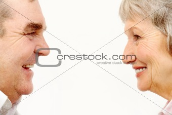 Profiles of adult couple