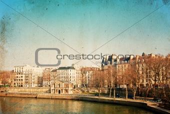 antique city view