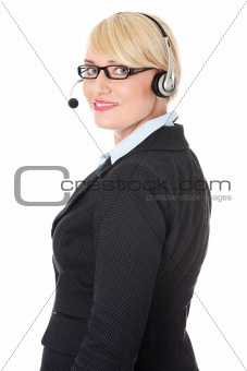 Mature call center.