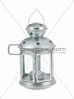Tin grey lantern