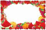 Red Fruit frame