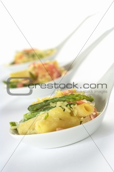 Green Asparagus, Ham and Pasta Casserole