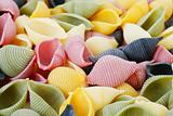 Colorfull pasta
