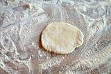 A piece of dough